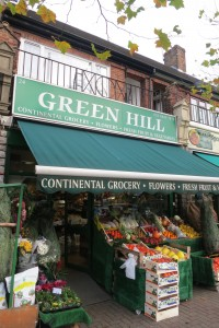 Green Hill greengrocers Barnet