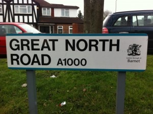 Great North Road intro pic