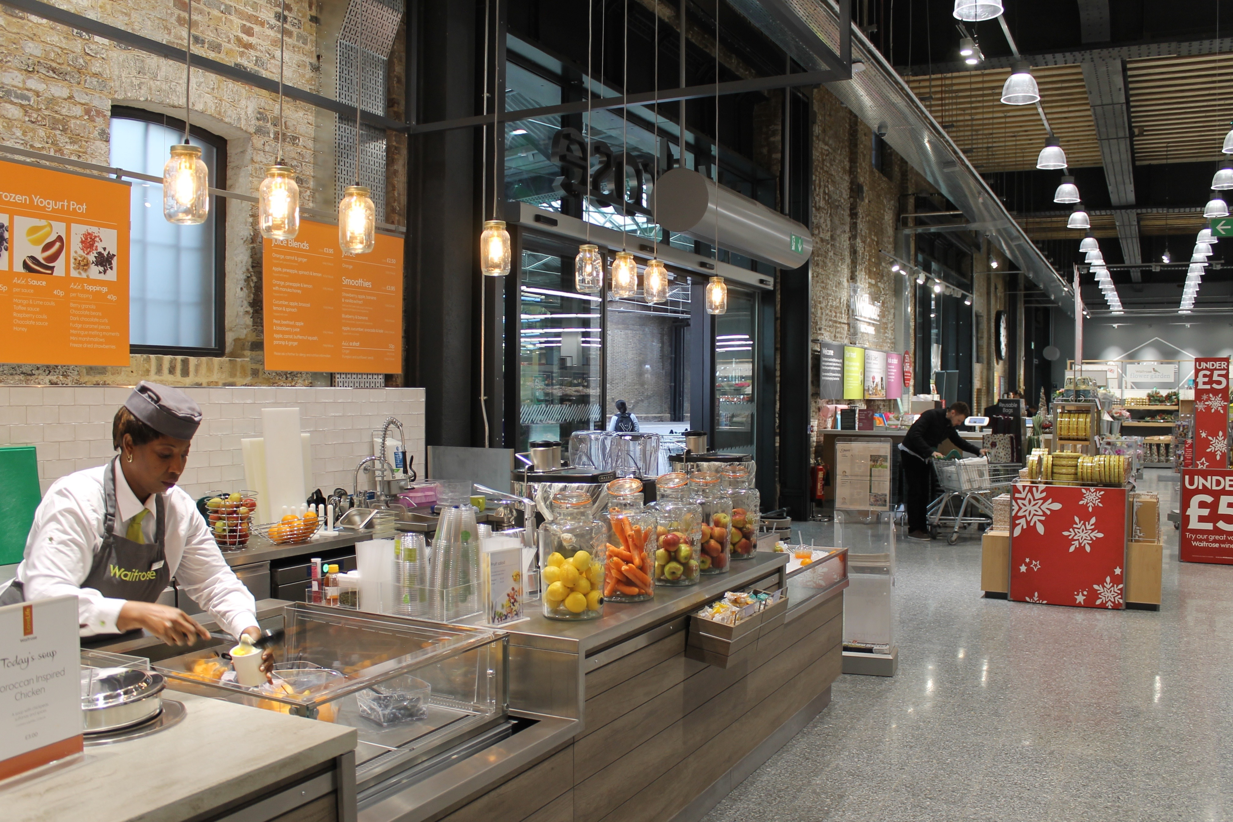 Kings Cross Waitrose 2
