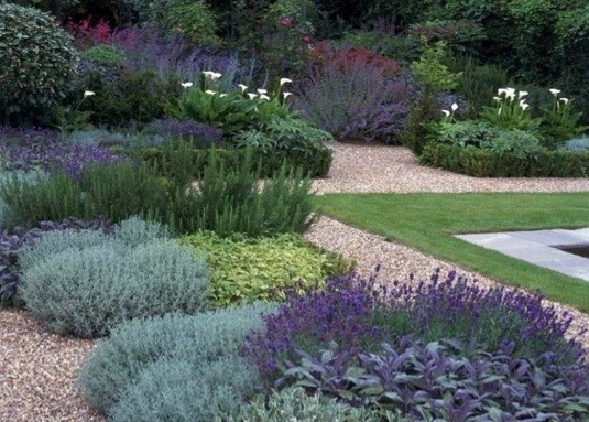 Low maintenance gardens high living barnet Low maintenance garden border ideas