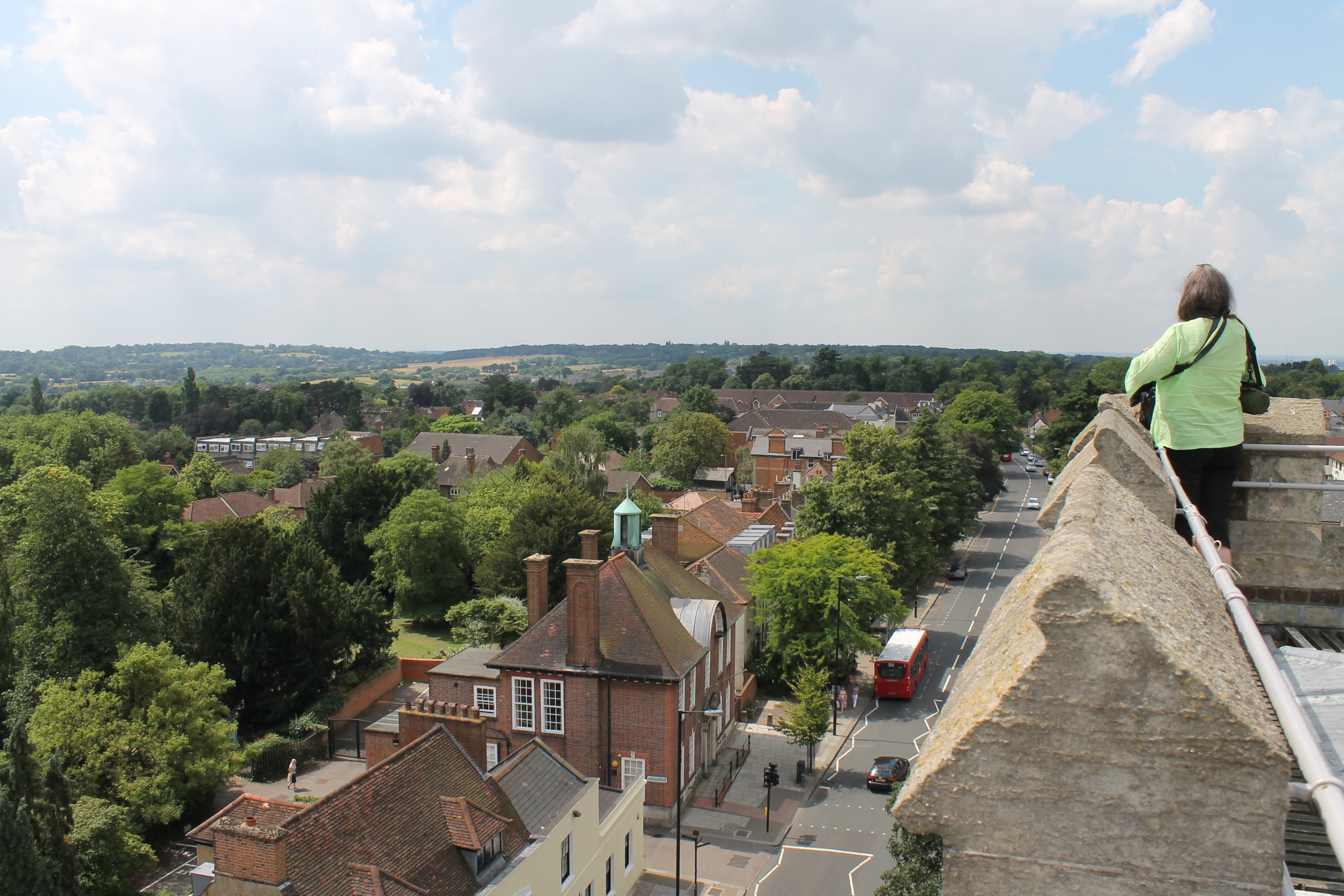 Church tower view 11