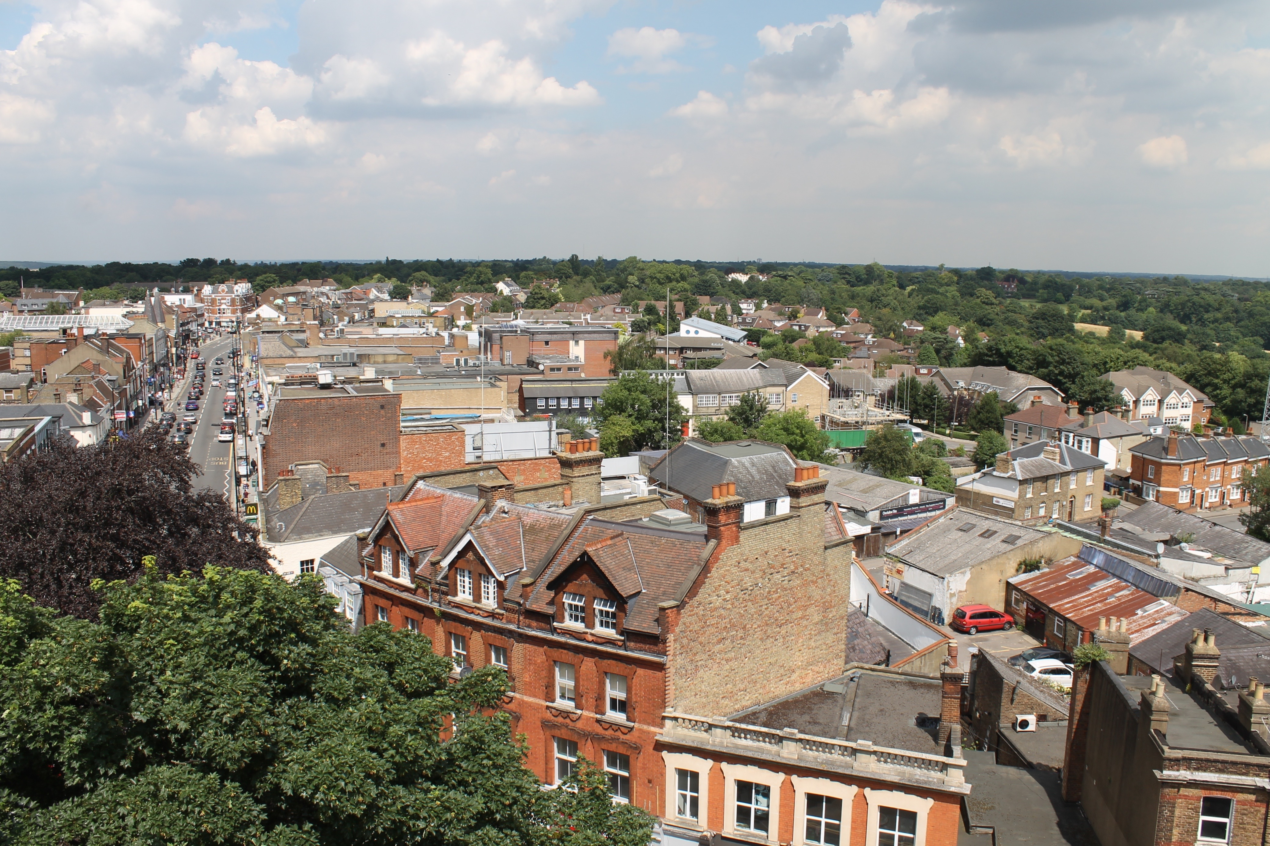 Church tower view 13