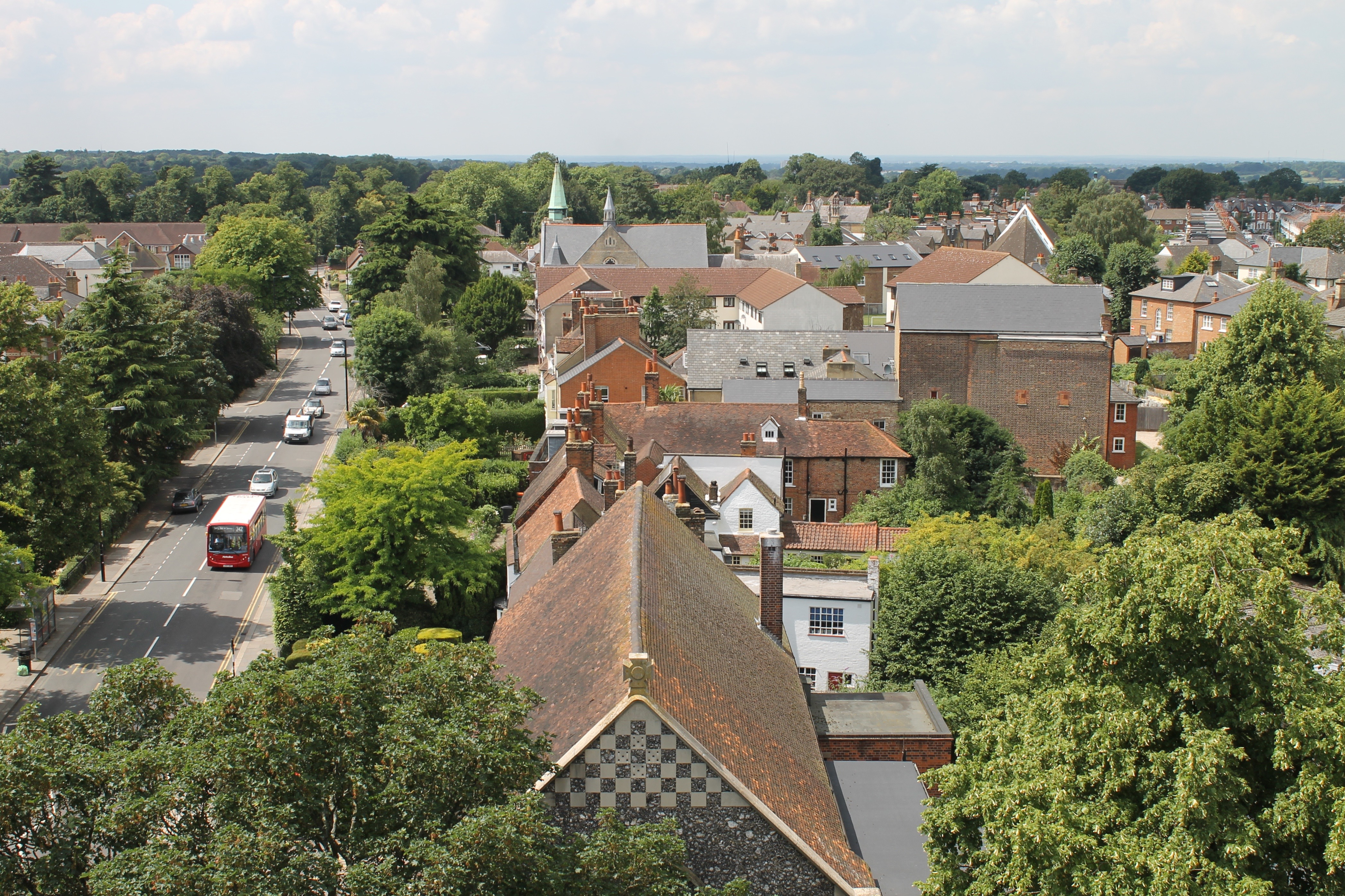 Church tower view 15