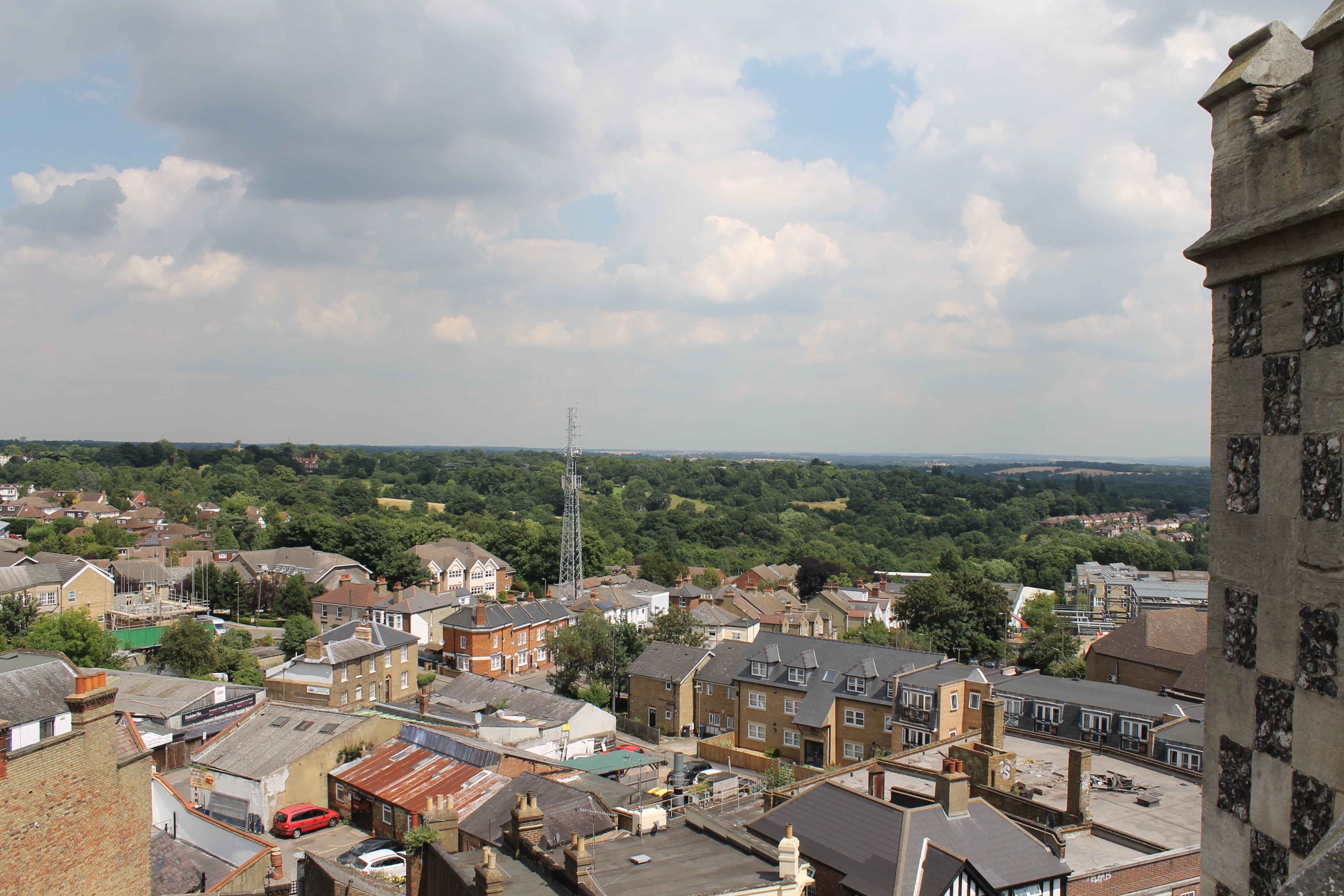 Church tower view 22