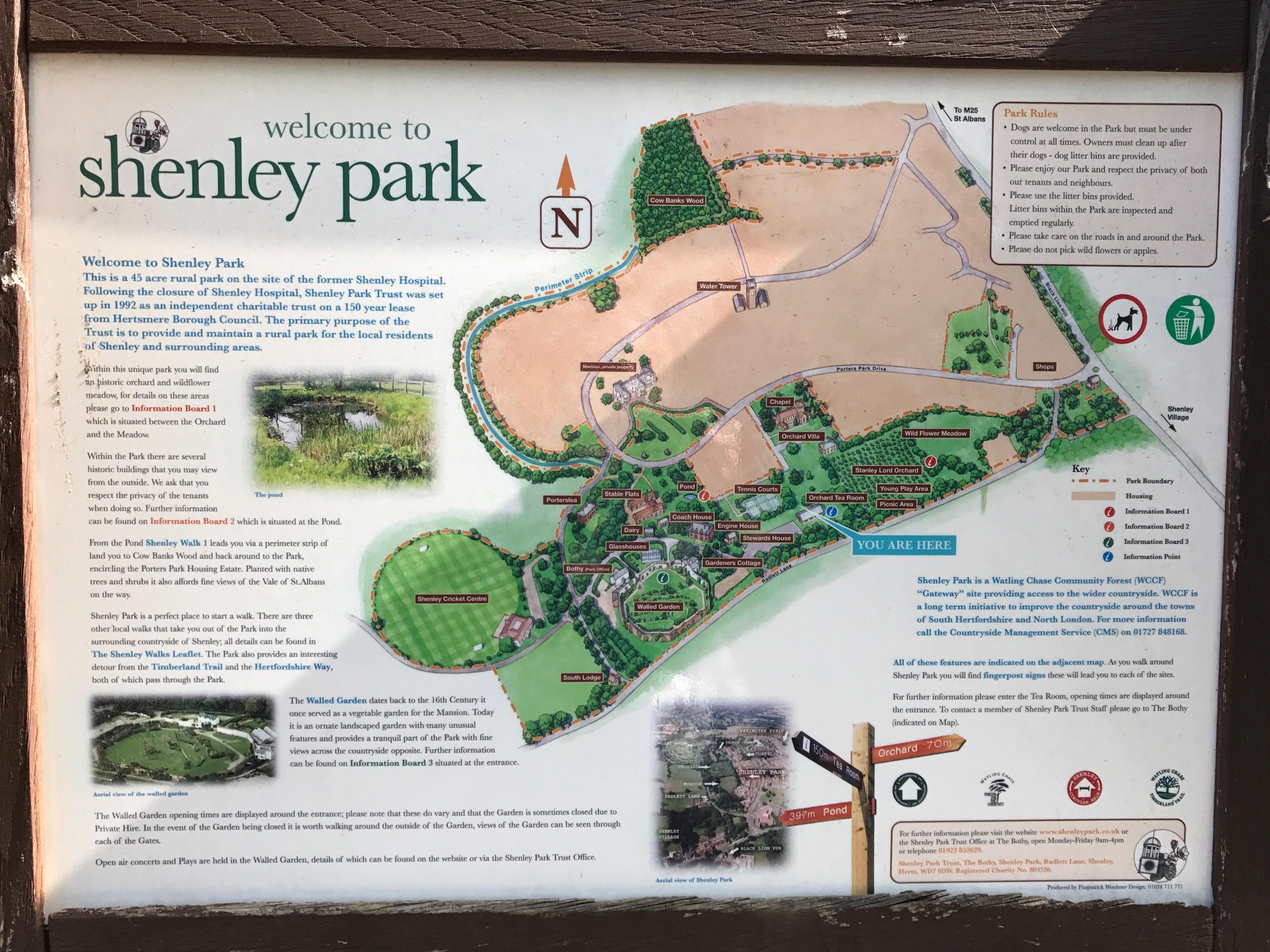 shenley park // high living barnet