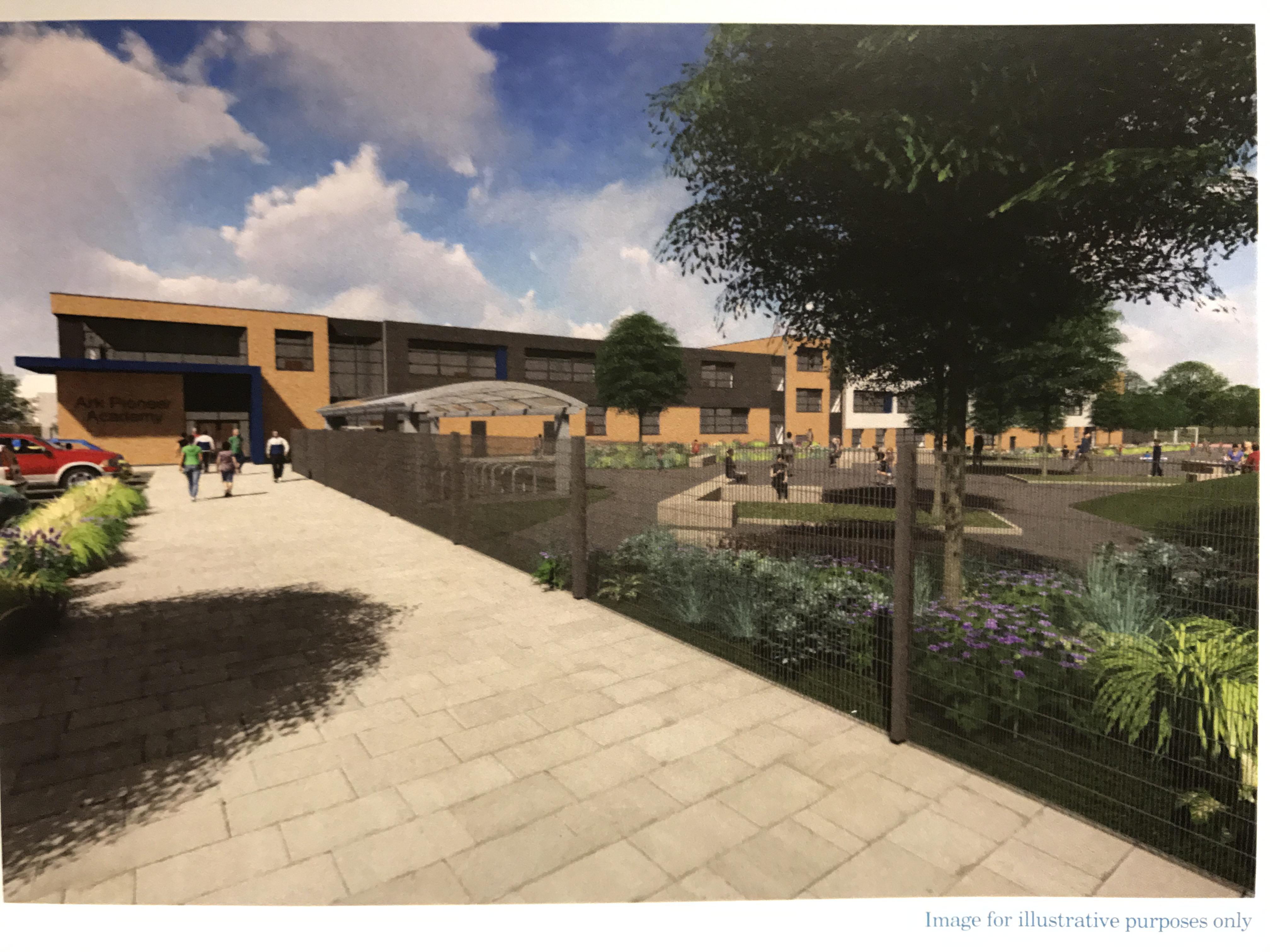 revised plans for ark academy on underhill site  public consultation      high living barnet