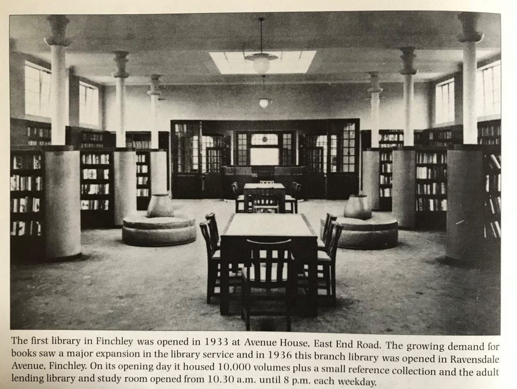 Chipping Barnet Library reopens // High Living Barnet